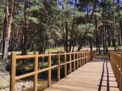 Pesquerías Reales-Valsaín,Río Eresma;rutas por patones carros del foc parque muniellos rutas mona